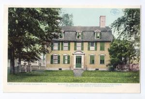 Portsmouth NH Postcard Samuel Lord House 1907 Detroit Publ