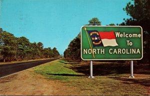 North Carolina Welcome Billboard 1968