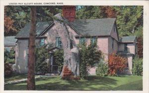 Massachusetts Concord Louisa May Alcott House