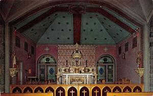 Brooklyn Michigan~St Joseph Shrine~Irish Hills~Sanctuary~1950s Postcard