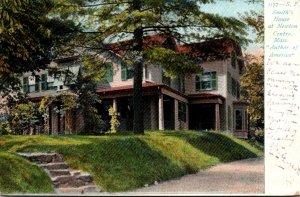 Massachusetts Newton Centre S F Smith's House 1908