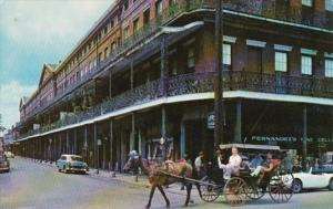 Louisiana New Orleans The Pontalba Apartments