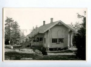 190598 FINLAND Lapland AAVASAKSA Vintage photo postcard