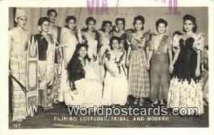 Philippines, Pilipinas Filipino Costumes Filipino Costumes