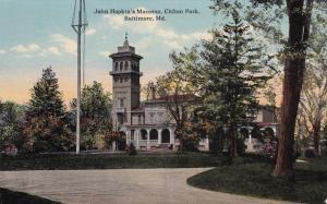 BALTIMORE, Maryland, 00-10s; John Hopkin's Mansion, Clifton Park