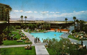 Nevada Las Vegas Stardust Hotel Olympic Size Swimming Pool 1972