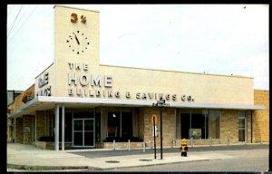 USA Postcard  The Home Building & Savings Toledo Ohio