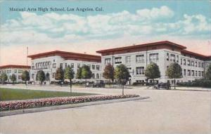 California Los Angeles Manual Arts high School