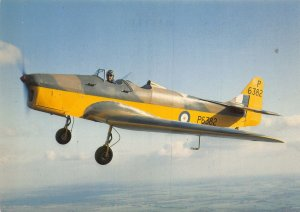 Miles Magister P6382 Airplane Postcard