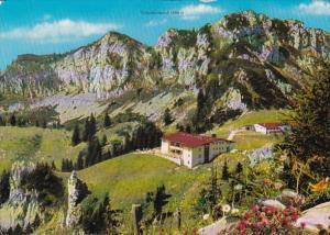 Germany Aschau Berggasthof Kampenwand Alpen Mit Scheibenwand