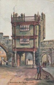 YORK , Yorkshire , England , 1908 ; Walmgate Bar