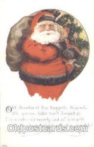 Santa Claus Postcard Postcards