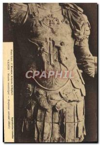 Postcard Old Vaison Municipal Museum Emperor armor