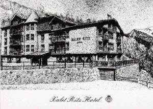 POSTAL B4059: ANDORRA: HOTEL RITZ
