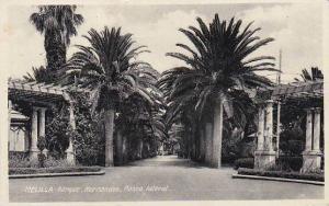 Spain Melilla Parque Hernandez Paseo lateral