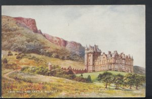 Northern Ireland Postcard - Cave Hill and Castle, Belfast - Art Colour RS16679