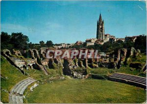 Postcard Modern sites of Charentes Arenes de Saintes On Ensemble des Arenes G...