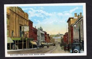 ME Main St Street Opera House BANGOR MAINE POSTCARD