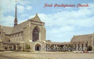 First Presbyterian Church Oklahoma City OK Postal Used Unknown