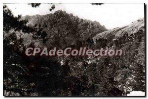 Old Postcard View Of The Bavella Descente Du Col