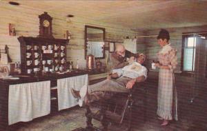 Canada Alberta Calgary Heritage Park Barbershop