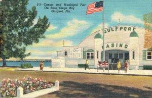 USA Casino And Municipal Pier On Boca Ciega Bay Gulfport 03.31