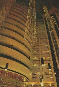 Giant Lobby Of Taipei Regency Taiwan China Hotel Postcard