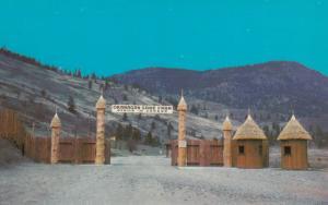 PENTICTON, British Columbia, Canada, 60-90s; Okanagan Game Farm, African Gate