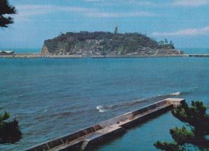 Enoshima Island Japan Japanese Postcard