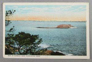 Reef Of Norman's Woe, Gloucester MA Postcard (#7946)