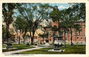 NH - Claremont. Broad Street Park