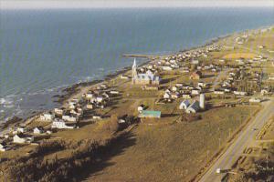 Aerial View, Marche 2M Inc., Baie des Sables, Cte Matane, Quebec, Canada, 50-...