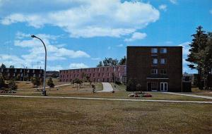 Marquette Michigan~Campus Residence Gries Hall @ NMI~Postcard 1960s