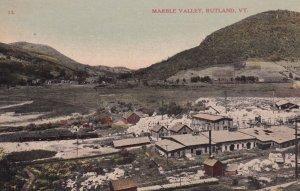 RUTLAND, Vermont, 1900-10s; Marble Valley