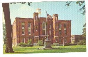 Exterior, Old Main Knox College, Galesburg, Illinois,  40-60s