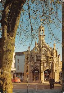 Chichester The Market Cross Clock Vintage Cars Auto