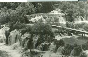 Croatia, Plitvice 1965 used real photo Postcard