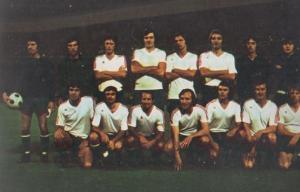 Atvidaberg 1970s European Football Squad Postcard