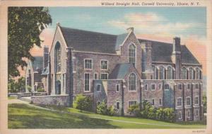 New York Ithaca Willard Straight Hall Cornell University Curteich