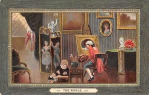 The Rivals, Victorian Era, Painter Painting, Child Play