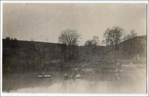 RPPC, Pond with a Raft and Rowboat