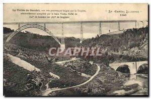 Old Postcard La Vallee Garabit website very picturesque bathes the Truyere