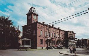 L´Hotel de Ville, The City Hall,  Farnham,  Quebec,  Canada,  40-60s