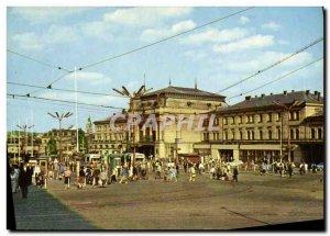 Postcard Modern Brno The main railway station