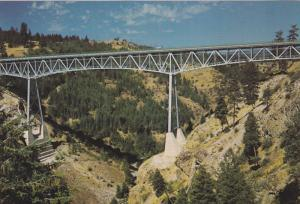 Highway 3 Bridge , ROCK CREEK , B.C., Canada , 60-80s