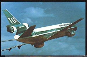 Aviation Airplane TIA Trans International Airlines Douglas DC 10