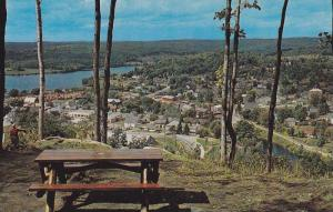 Picnic Table, View From Lookout Park, Haliburton Highlands Vacationland, Hali...