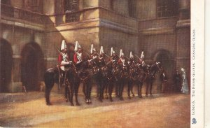 London. The Horse Guards. Changing Guard TuckOilette PC # 770
