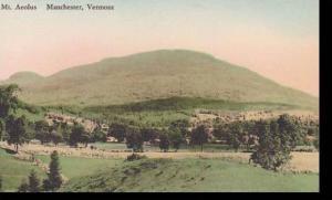 Vermont Manchester View Of Mt. Aeolus Albertype
