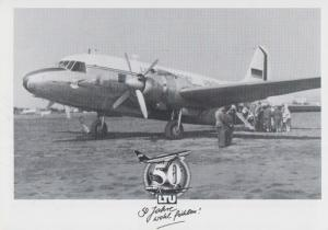 Vickers VC1 LTU Viking Rare Anniversary Postcard